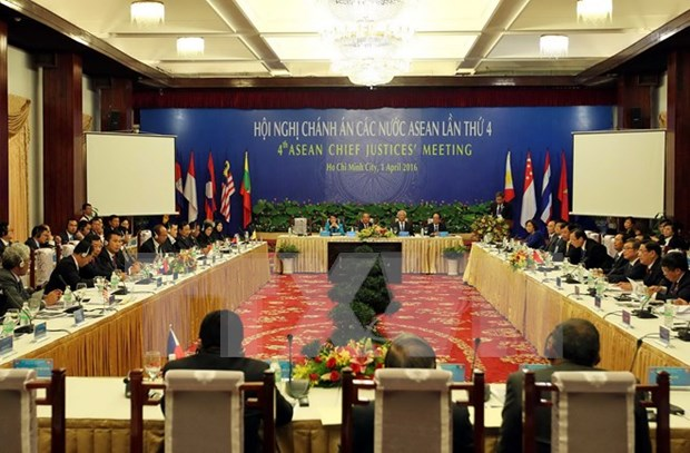 Efectuan en Vietnam conferencia de Asociacion Juridica de ASEAN hinh anh 1