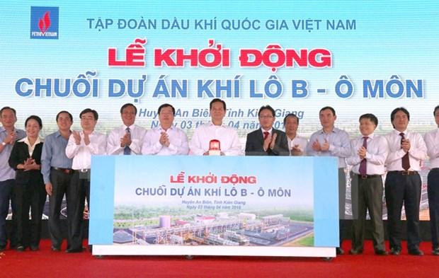 Arrancan proyectos de explotacion gasifera en mar vietnamita hinh anh 1