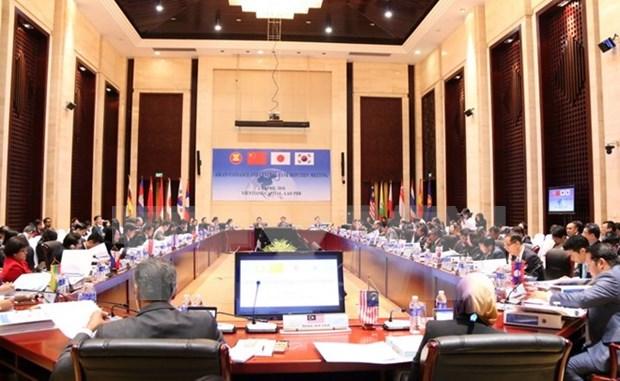 Funcionarios financieros de ASEAN y socios se reunen en Vientiane hinh anh 1