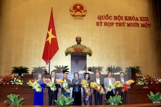 Presentan lista de nominaciones a vicepresidentes de Parlamento hinh anh 1