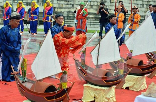 Honran a marineros martires vietnamitas en Hoang Sa hinh anh 1