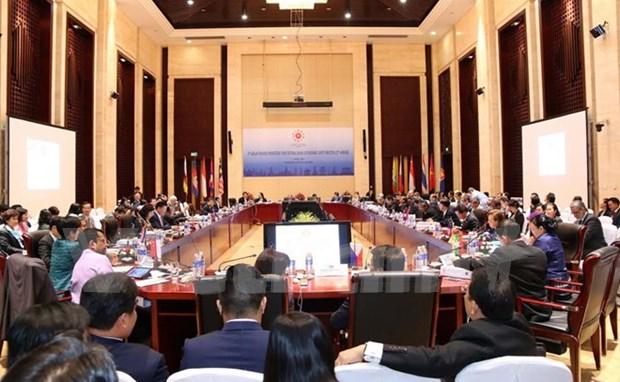 Ministros de Finanzas de ASEAN comprometen a politicas fiscales prudentes hinh anh 1