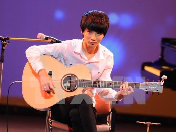Talentoso guitarrista sudcoreano actuara en Vietnam hinh anh 1