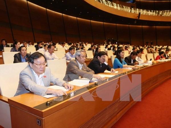 Aprueba Parlamento vietnamita cuatro proyectos de leyes hinh anh 1
