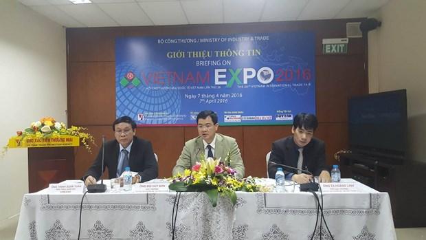 Vietnam Expo 2016 persigue fomentar conectividad economica internacional hinh anh 1