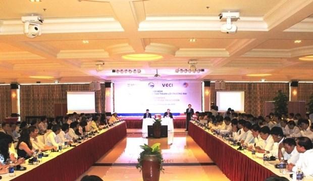 Empresas vietnamitas necesitan comprender normas de origen para beneficiarse de TLC hinh anh 1