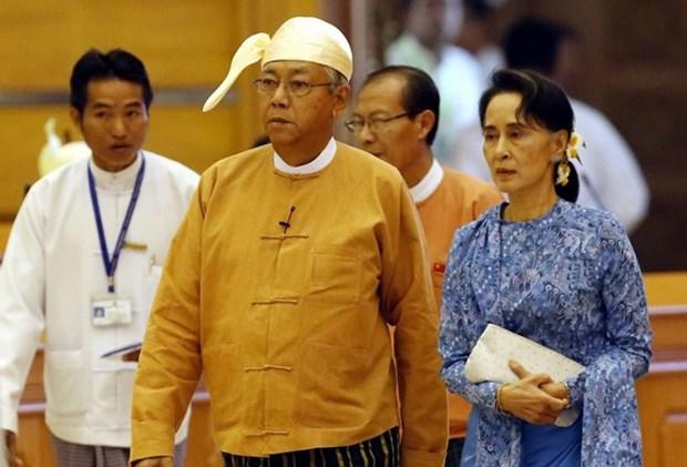 Saluda Estados Unidos transicion politica de Myanmar hinh anh 1