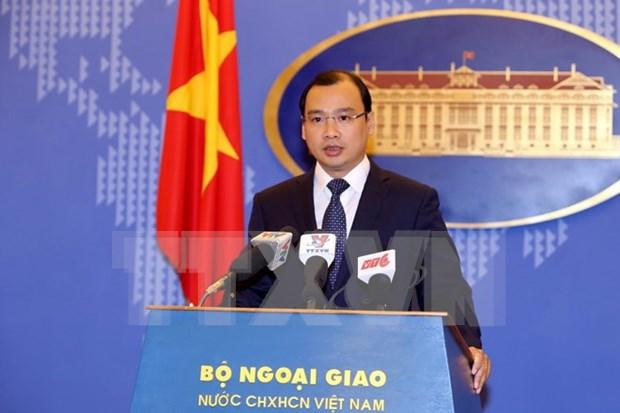 Vietnam rechaza violaciones de China a su soberania en el Mar del Este hinh anh 1