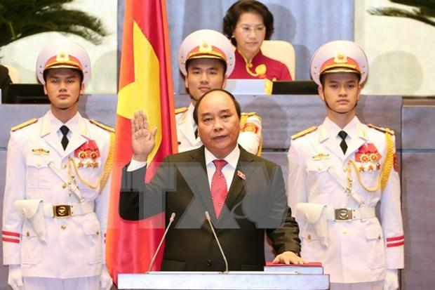 Elegido Nguyen Xuan Phuc como primer ministro de Vietnam hinh anh 1