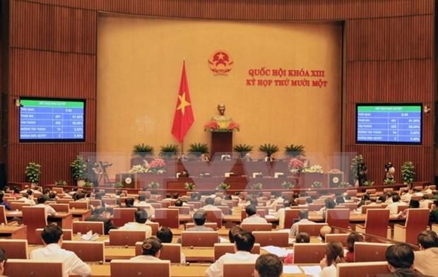 Diputados vietnamitas muestran confianza en el nuevo gobierno hinh anh 1