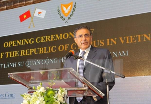 Abren en Ciudad Ho Chi Minh Consulado General de Chipre hinh anh 1