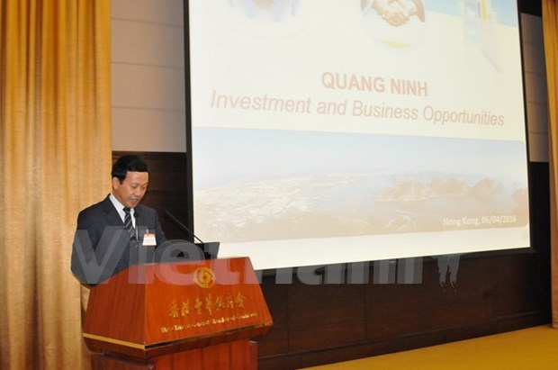 Presentan ambiente y politica de negocios de Vietnam en Hong Kong hinh anh 1