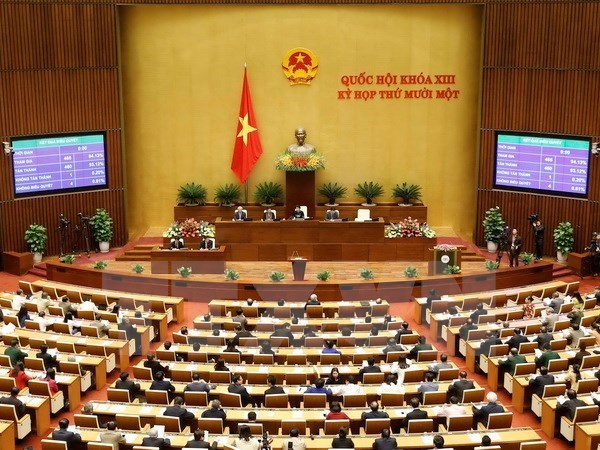 Parlamento aprueba la liberacion de cargos a vicepremieres hinh anh 1