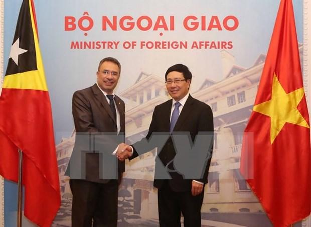 Vietnam y Timor Leste analizan medidas para impulsar nexos multifaceticos hinh anh 1