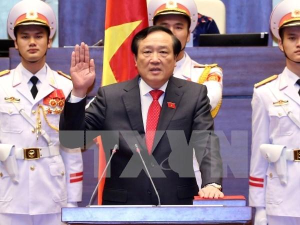 Parlamento vietnamita elige a nueva vicepresidenta y otros altos funcionarios hinh anh 2