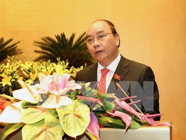 Primer ministro presenta ante Parlamento nombres para vicepremieres hinh anh 1