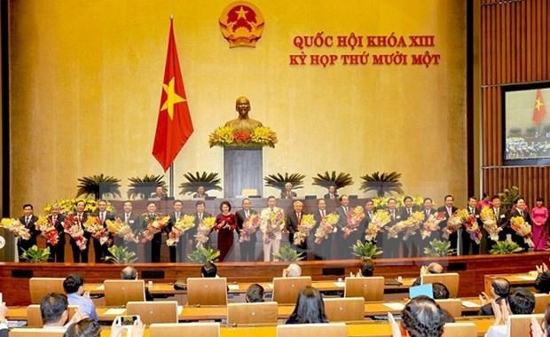 Parlamento aprueba designacion de vicepremieres y miembros del Gobierno hinh anh 1