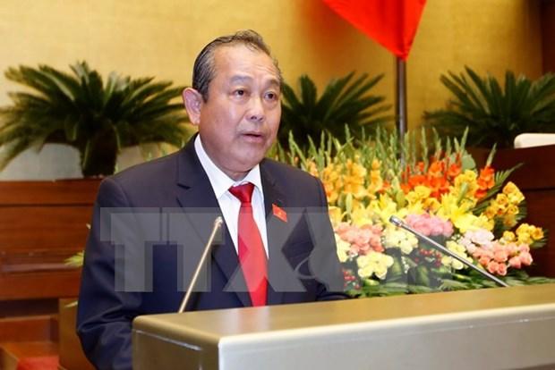Gobierno de nuevo mandato por impulsar avance socioeconomico de Vietnam hinh anh 1
