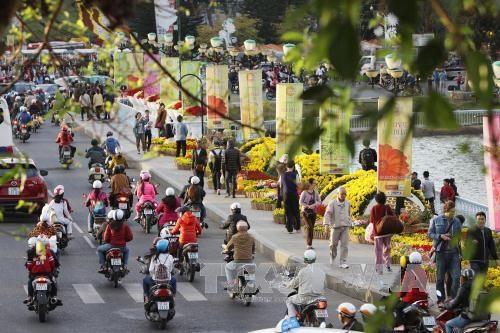 Crece numero de turistas a provincia vietnamita de Lam Dong hinh anh 1