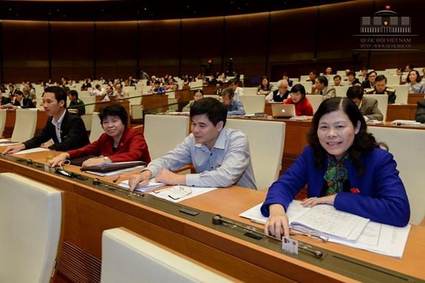 Adoptan proyecto de ley sobre firma y aplicacion de tratados internacional hinh anh 1