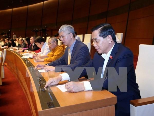 Parlamento aprueba lista de miembros de consejos electoral y de defensa – seguridad hinh anh 1