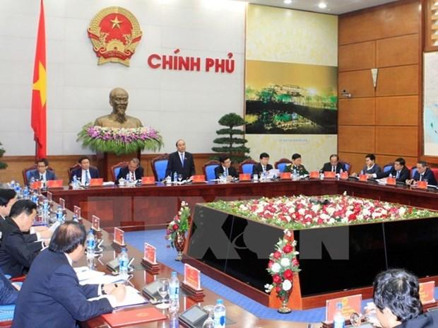 Premier preside la primera reunion del recien elegido gobierno hinh anh 1