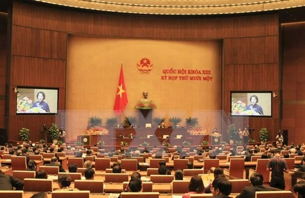 Informan en Vietnam sobre resultados de sesiones parlamentarias hinh anh 1