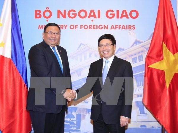 Vietnam y Filipinas reafirmaron rol de ley internacional en asuntos maritimos hinh anh 1