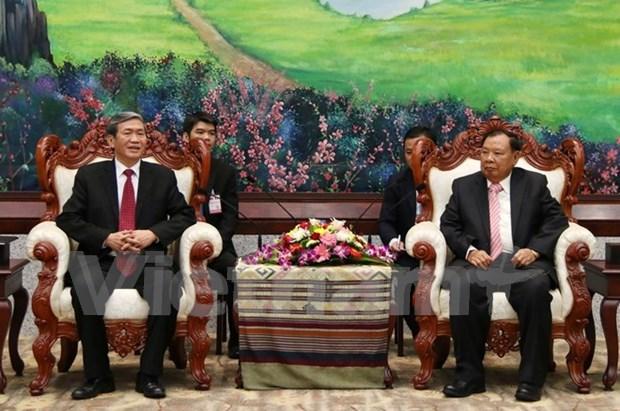 Vietnam y Laos profundizan nexos de solidaridad especial hinh anh 1