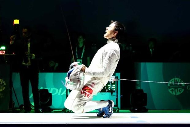 Esgrima eleva a once boletos de Vietnam a Rio 2016 hinh anh 1