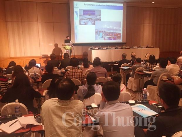 Seminario en Ciudad Ho Chi Minh sobre mejoramiento de relaciones laborales hinh anh 1
