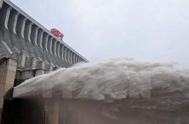 China continua liberando agua a la cuenca baja del Rio Mekong hinh anh 1