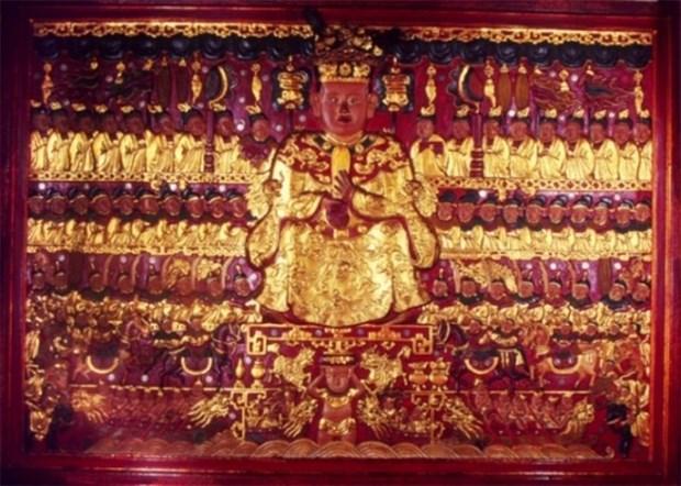 Hanoi: Relieve de progenitor del pueblo declarado tesoro nacional hinh anh 1