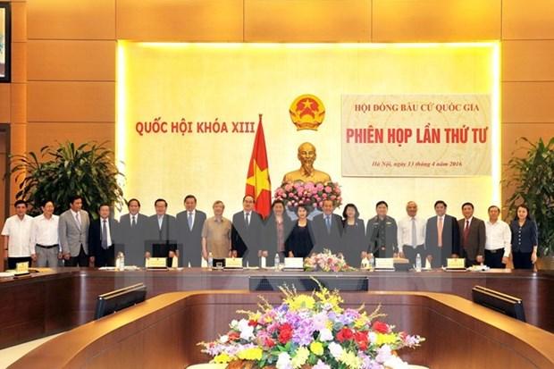 Consejo Nacional Electoral efectua primera reunion presidida por su nueva titular hinh anh 1