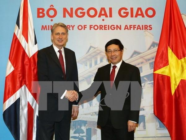 Vietnam y Reino Unido profundizan asociacion estrategica bilateral hinh anh 1