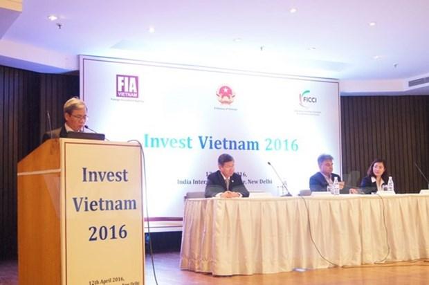 Conferencia en Nueva Delhi promueve inversion india en Vietnam hinh anh 1