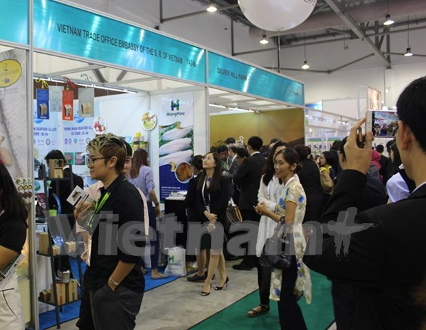 Vietnam abre espacio en la mayor feria de alimentos de Asia en Singapur hinh anh 1