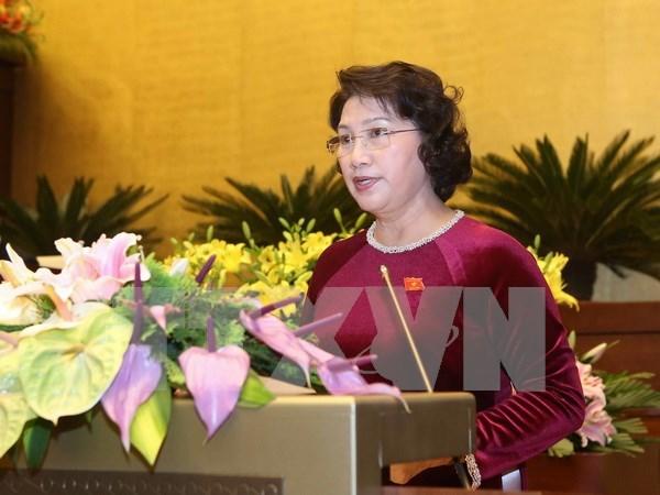 Envian mas felicitaciones a primer ministro y a lider parlamentaria de Vietnam hinh anh 2
