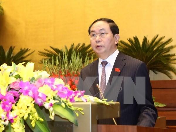Lideres mundiales congratulan a nuevo presidente de Vietnam hinh anh 1