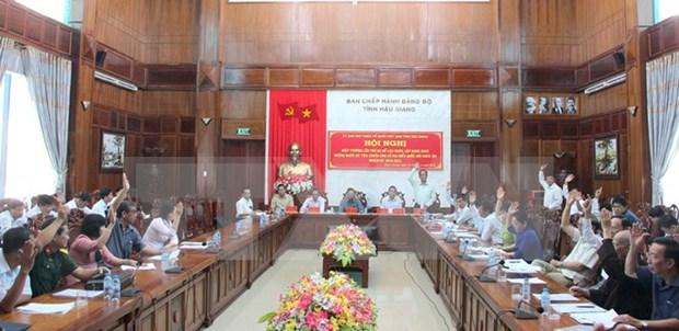 Aprueban lista de candidatos a diputados de Asamblea Nacional de Vietnam hinh anh 1