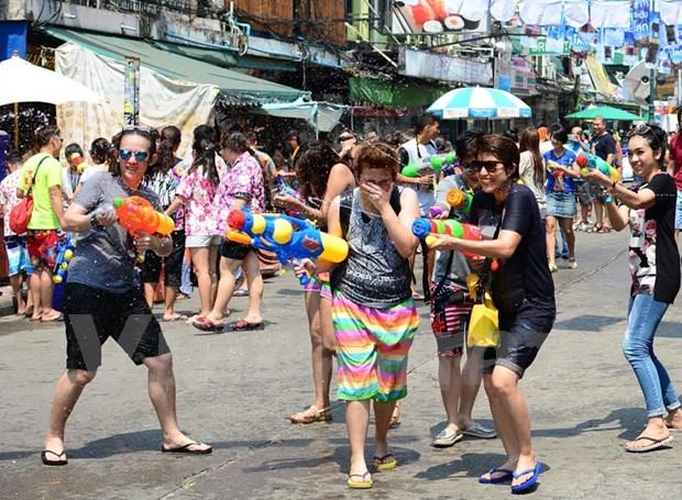 Ciudad Ho Chi Minh celebra fiesta tradicional de Camboya, Myanmar, Laos y Tailandia hinh anh 1