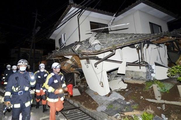 No hay informacion sobre victimas vietnamitas en terremoto en Japon hinh anh 1