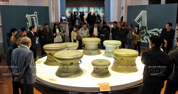Tambor Dong Son, cuspide de la civilizacion bajo dinastia de reyes Hung hinh anh 1