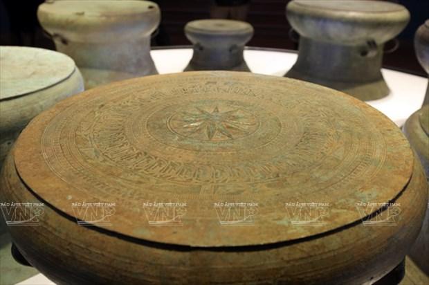 Tambor Dong Son, cuspide de la civilizacion bajo dinastia de reyes Hung hinh anh 2