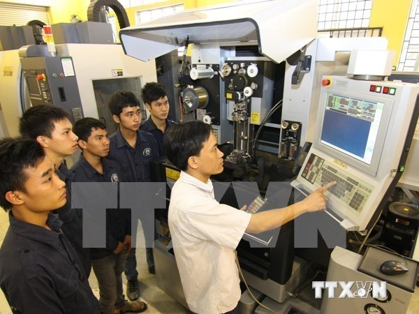 Samsung apoya a concursantes vietnamitas en competencia mundial de habilidades hinh anh 1