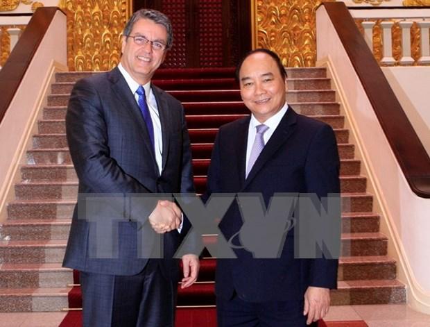 Premier vietnamita sugiere apoyo de OMC en integracion a comercio multilateral hinh anh 1
