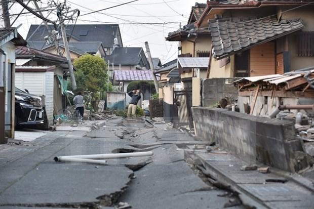Expresa Vietnam solidaridad con Japon ante perdidas causadas por terremotos hinh anh 1