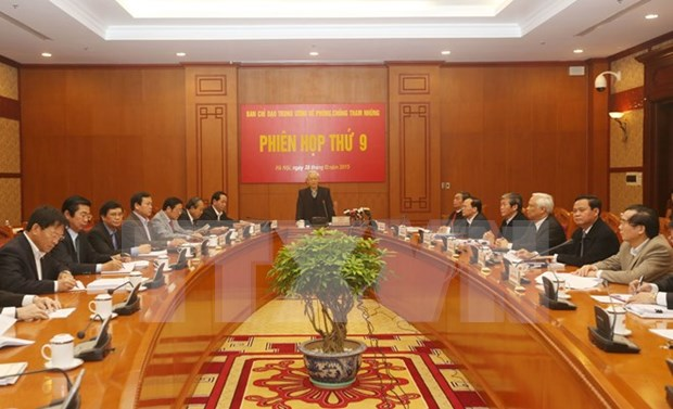 Comite contra la corrupcion de Vietnam se reunira el lunes proximo hinh anh 1