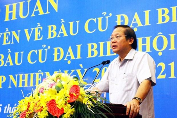 Ministro vietnamita enfatiza importancia de labores de divulgacion de elecciones hinh anh 1