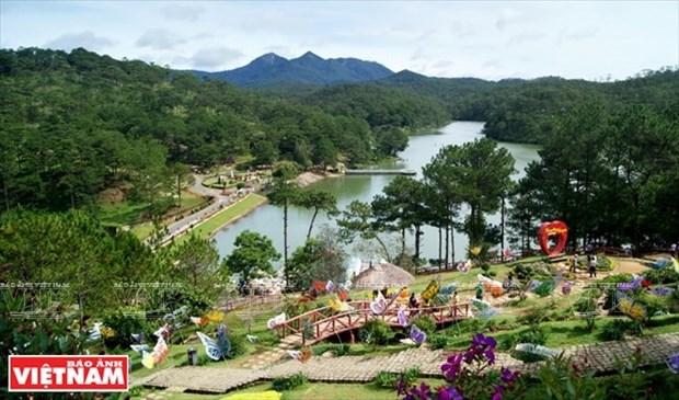 El Valle del Amor en la ciudad turistica de Da Lat hinh anh 1